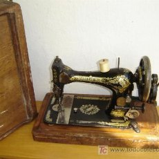 Antigüedades: Nº6 MAQUINA DE COSER SIINGER. Lote 4895608
