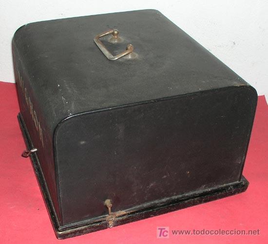 Antigüedades: MAQUINA DE ESCRIBIR MIGNON Nº 3 CON ESTUCHE METALICO - Foto 9 - 12388839