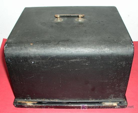 Antigüedades: MAQUINA DE ESCRIBIR MIGNON Nº 3 CON ESTUCHE METALICO - Foto 11 - 12388839