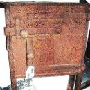 Antigüedades: VENTANA-MIRILLA SEGURIDAD EN HIERRO, CON ESPIGOS ORIGINARIOS PARA PUERTA S/ XVIII. MEDIDAS,. Lote 26378783