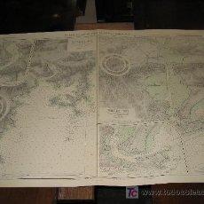 Antigüedades: ANTIGUA CARTA DE NAVEGACION DE LA COSTA SUR DE SHIKOKU. JAPON. Lote 36932339