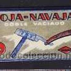 Antigüedades: HOJA DE AFEITAR HOJA NAVAJA (ESPAÑOLA). Lote 5079594