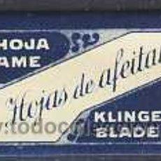 Antigüedades: HOJA DE AFEITAR HOJAS DE AFEITAR (ESPAÑOLA). Lote 5079611