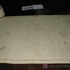 Antigüedades: ANTIGUA CARTA DE NAVEGACION DEL ARCHIPIELAGO DE CHAGOS (OCEANO INDICO). Lote 27369211