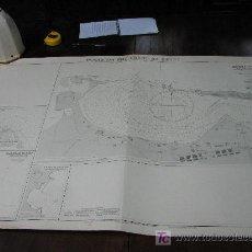 Antigüedades: ANTIGUA CARTA DE NAVEGACION DE LAS COSTAS DE EGIPTO. Lote 26422338