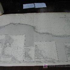 Antigüedades: ANTIGUA CARTA DE NAVEGACION DE LAS COSTAS DE LYBIA. Lote 27358612