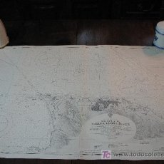 Antigüedades: ANTIGUA CARTA DE NAVEGACION DE SIERRA LEONA.. Lote 26556685