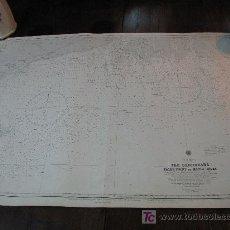 Antigüedades: ANTIGUA CARTA DE NAVEGACION DE SANDHEADS. Lote 26339947