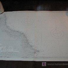 Antigüedades: ANTIGUA CARTA DE NAVEGACION DE FLAMBOROUGH. INGLATERRA. Lote 26339954