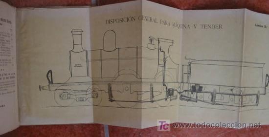 Antigüedades: TRATADO PRACTICO SOBRE EL FRENO DE VACIO AUTOMATICO (para Trenes) s/f aprox.1900 - Foto 2 - 9228831