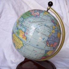 Antiquitäten - precioso globo terraqueo chad valley años 50 aprox (hojalata, 28cm de alto aprox) - 26856576