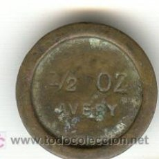 Antigüedades: PESA INGLESA CREO QUE DE FARMACIA PESO: 14'10 GRAMOS. Lote 21176537