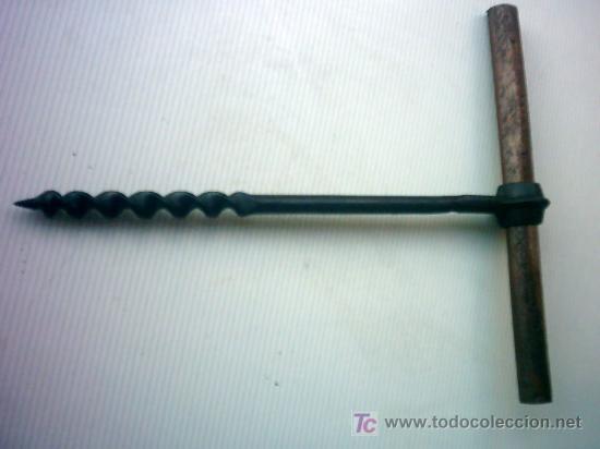 BARRENA (Antigüedades - Técnicas - Herramientas Antiguas - Otras profesiones)