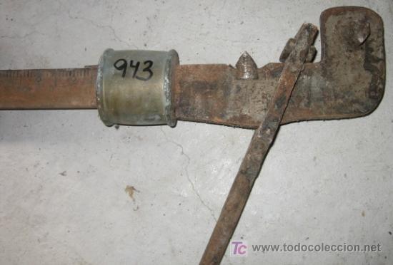 Antigüedades: Pieza de bascula 150 kg - Foto 2 - 5937288