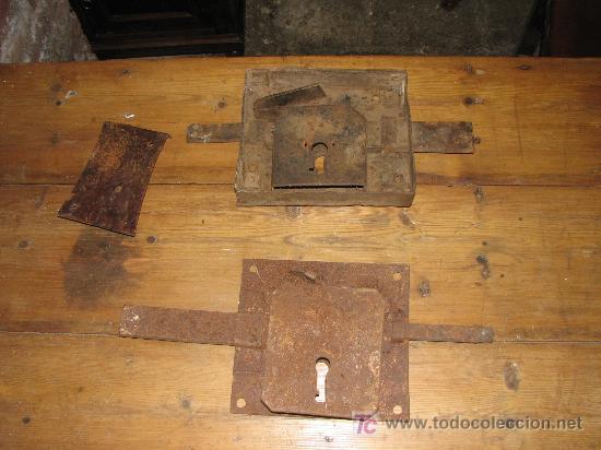 Antigüedades: Antiguas cerraduras. - Foto 2 - 27038591
