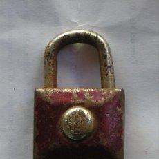 Antigüedades: ANTIGUO CANDADO SIN LLAVE. Lote 26656703