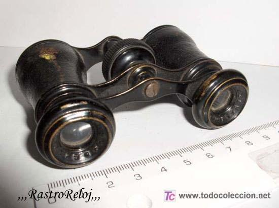 ,,,ANTIGUOS BINOCULARES,,,CHEVALIER - PARÍS,,, (Antigüedades - Técnicas - Instrumentos Ópticos - Binoculares Antiguos)