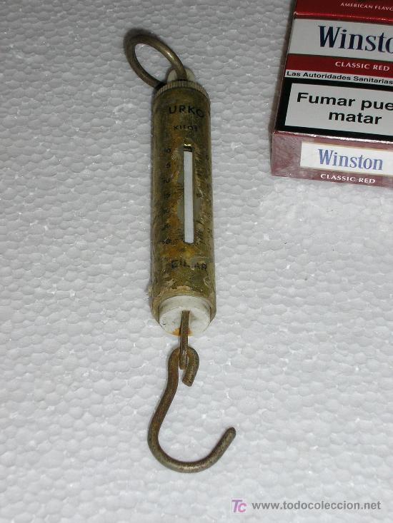 PEQUEÑA ROMANA MANUAL (Antigüedades - Técnicas - Medidas de Peso - Romanas Antiguas)