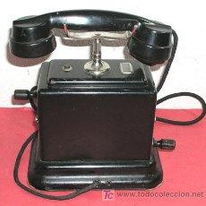Teléfonos: TELEFONO DE CONSOLA ANTIGUO . Lote 12313842