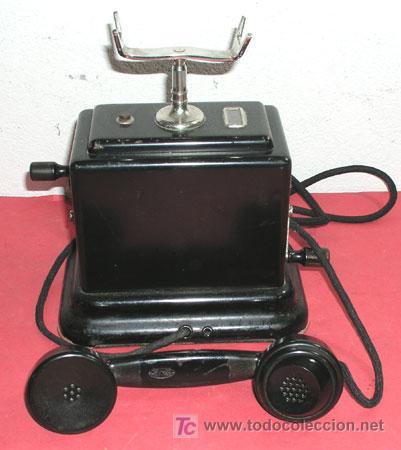 Teléfonos: TELEFONO DE CONSOLA ANTIGUO - Foto 2 - 12313842