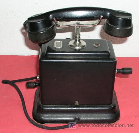 Teléfonos: TELEFONO DE CONSOLA ANTIGUO - Foto 3 - 12313842