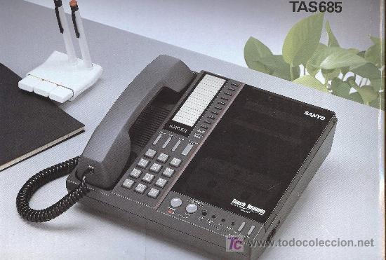 SANYO TAS685 (Antigüedades - Técnicas - Teléfonos Antiguos)