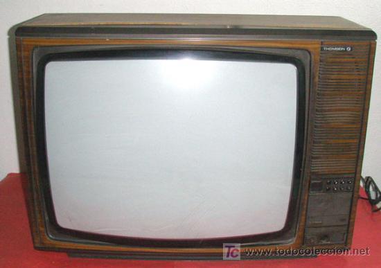 televisor thomson comprar varias antig edades t cnicas y cient ficas en todocoleccion 17295809. Black Bedroom Furniture Sets. Home Design Ideas