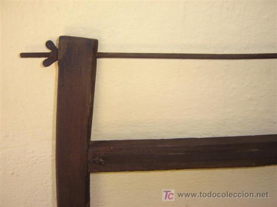 Antigüedades: sierra carpintero antigua - Foto 3 - 6770418