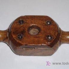 Antigüedades: TERRAJA PARA MADERA. Lote 27227446