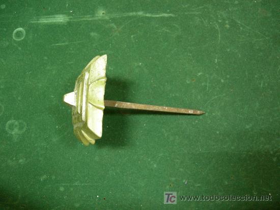 Antigüedades: diez fantasticos clavos de bronce para puerta siglo XIX, 5,5 x 5,5cm - Foto 3 - 26973216