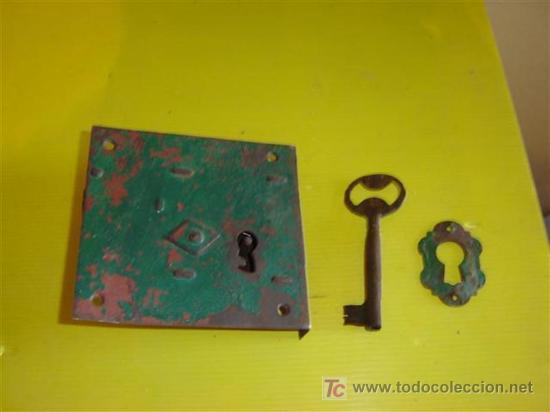 CERRADURA ANTIGUA (Antigüedades - Técnicas - Cerrajería y Forja - Cerraduras Antiguas)