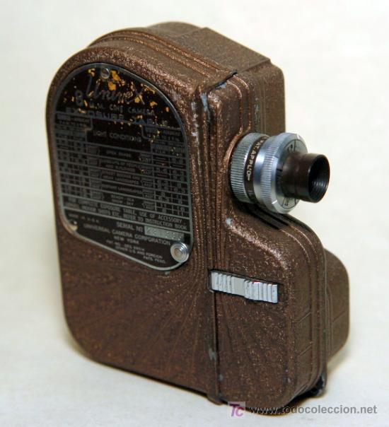 UNIVEX 8 MM (Antigüedades - Técnicas - Aparatos de Cine Antiguo - Cámaras de Super 8 mm Antiguas)