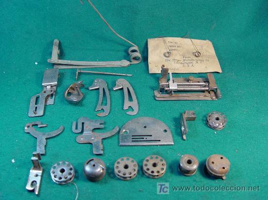 Piezas maquina de coser - mayoría de singer - a - Vendido
