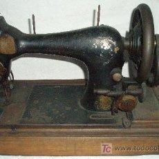 Antigüedades: MAQUINA COSER MANUAL MARCA SINGER. Lote 55695518