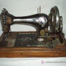 Antigüedades - MAQUINA COSER MANUAL MARCA SINGER - 27381506