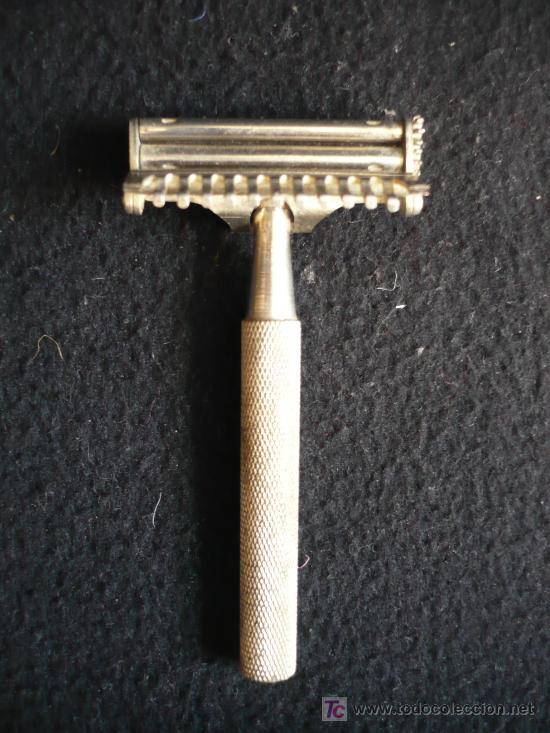 ANTIGUA MAQUINILA AFEITAR. VALLET- (Antigüedades - Técnicas - Barbería - Varios Barbería Antiguas)