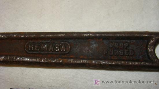 Antigüedades: LLAVE INGLESA - Foto 2 - 7572218