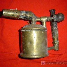 Antigüedades: SOPLETE DORADO DE METAL.. Lote 24165768