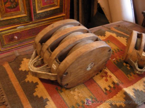 Polea de barco antigua en comprar antig edades marinas y - Antiguedades de barcos ...