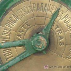Antigüedades: ANTIGUO TELÉGRAFO MARINO DE ÓRDENES. AÑOS 20-30. ALTURA: 109 CMS. VER FOTOS.. Lote 27235654