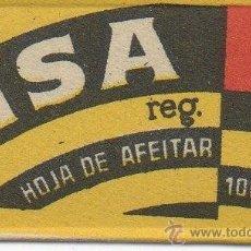 Antigüedades: CUCHILLA DE AFEITAR MSA HOJA. Lote 235981960