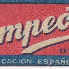 Antigüedades: CUCHILLA DE AFEITAR CAMPEÓN HOJA. Lote 235986250