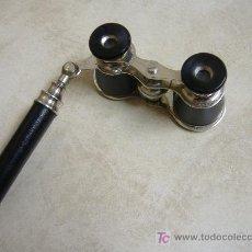 Antigüedades: BINOCULAR CON MANGO PARA TEATRO. Lote 97248332