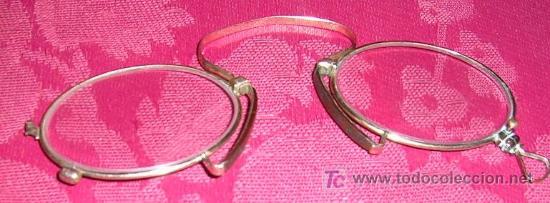 BINOCULAR ANTIGUO DE ORO. EL CONTRASTE FIGURA UNA CABEZA PERRO. ALEMAN.VER DETALLES. ENVÍO PAGADO (Antigüedades - Técnicas - Instrumentos Ópticos - Gafas Antiguas)