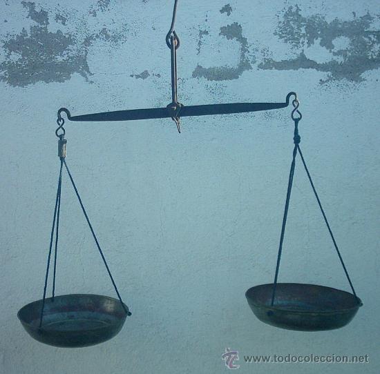 ANTIGUAS BALANZAS (Antigüedades - Técnicas - Medidas de Peso - Balanzas Antiguas)
