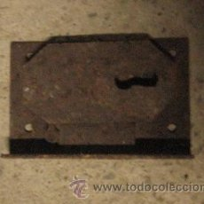 Antigüedades: CERRADURA DE 6 CMS, SIN LLAVE. Lote 8167077
