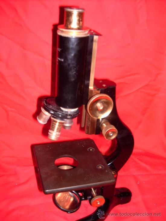 MICROSCOPIO (Antigüedades - Técnicas - Instrumentos Ópticos - Microscopios Antiguos)