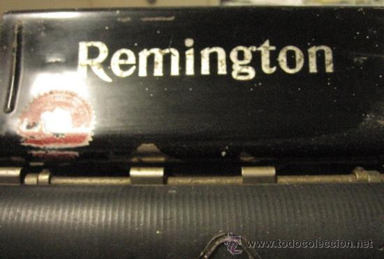 Antigüedades: Máquina de escribir Remington - Foto 2 - 23753999