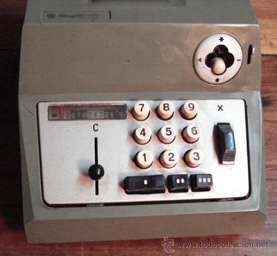 Antigüedades: Calculadora antigua - Foto 2 - 24636248