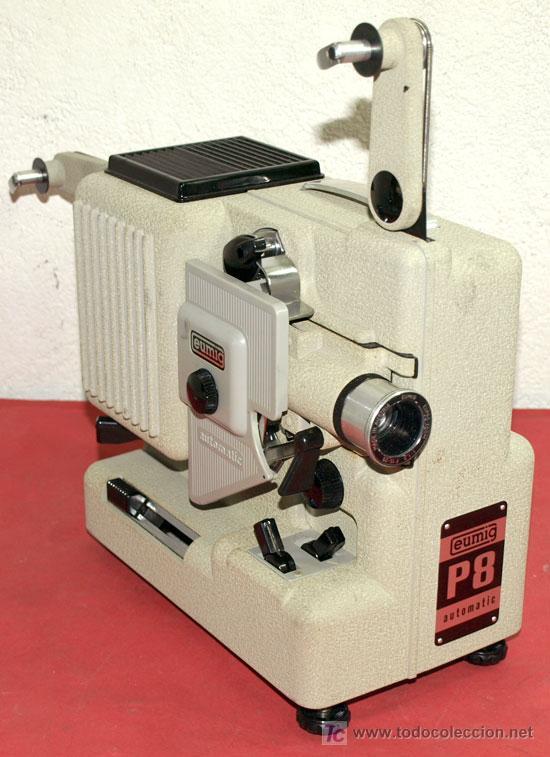 PROYECTOR EUMIG P 8 AUTOMATIC (Antigüedades - Técnicas - Aparatos de Cine Antiguo - Cámaras de Super 8 mm Antiguas)